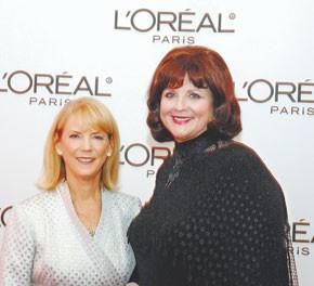 LýOrýalýs Carol Hamilton with Karen Stark.