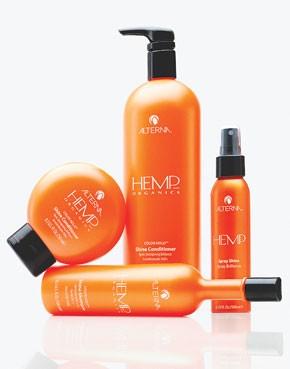 Alterna's Hemp Organics line.