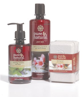 Pure & Natural's new products.