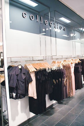 Esprit's Collection line at the flagship at Rockefeller Center.