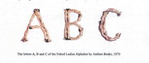 """Naked Ladies Alphabet"" by Anthon Beeke."