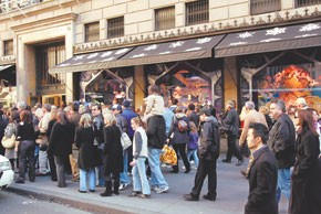 Retailers are eager to see crowds of shoppers for the holidays.