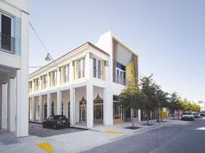 Y-3's new store in Miami's Design District.