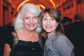 Ellen Levine and Donna Hanover