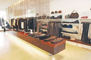 Seven For All Mankind is looking to capture a luxury vibe in its store design.