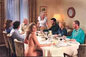 Bluefly's take on Thanksgiving.