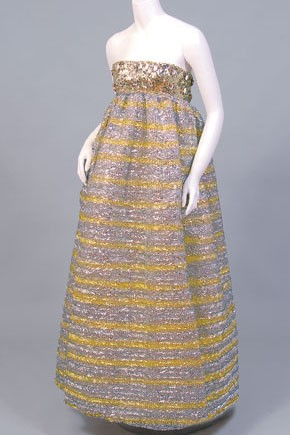 A Maggy Rouff Sixties ballgown.