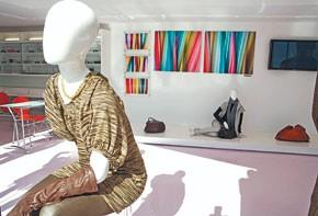 Fashions at Steev West Fourth in Brooklyn.