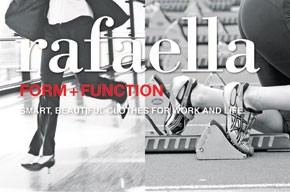 An ad for Rafaella's relaunch.