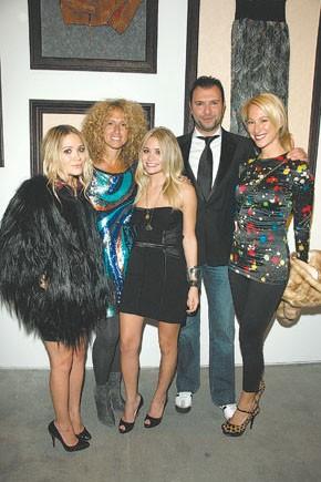 Mary-Kate Olsen, Jane Siskin, Ashley Olsen, Khajak Keledjian and Sari Sloane.
