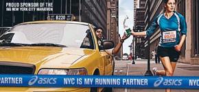 An Asics marketing image for the marathon.