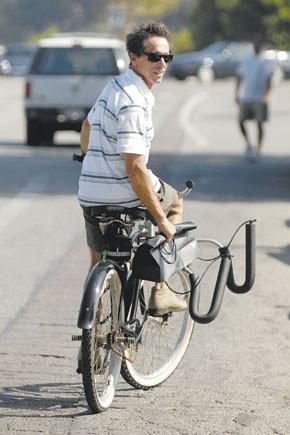Brian Grazer in Malibu.