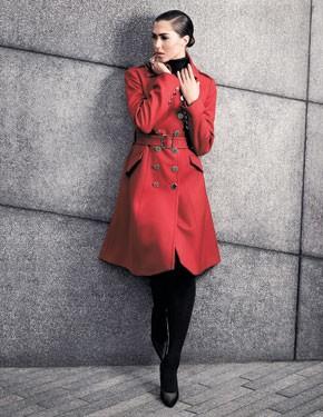 A Karen Millen coat.