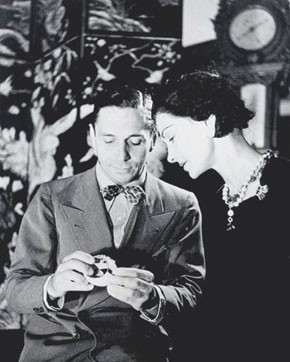 Fulco di Verdura with Coco Chanel.