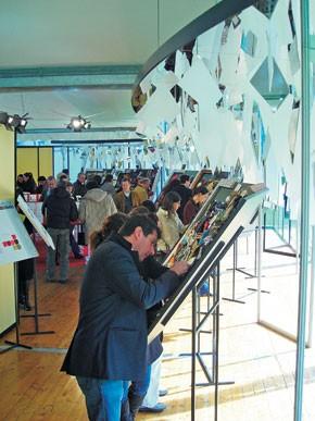The Filo yarn fair drew 74 exhibitors.