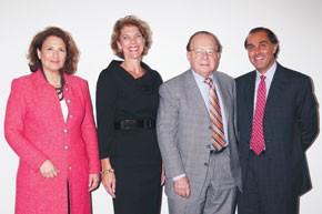 Joyce Greenberg, Diane D'Erasmo, Emanuel Weintraub and Rohit Manocha.
