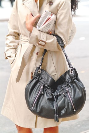 A London Fog handbag.