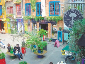 Neal's Yard's London flagship.