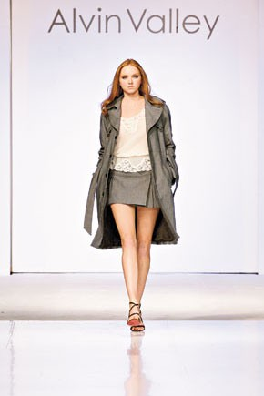 A spring runway look from As Is by  Alvin Valley.