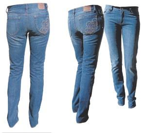 Sharkah Chakra jeans.