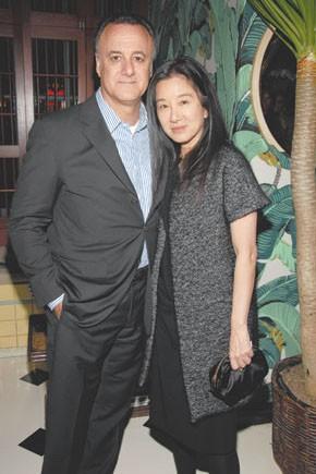 Arthur Becker and Vera Wang