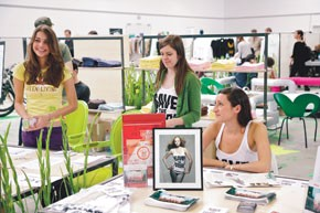 Eco-conscious fashion lines are becoming more prevalent at shows.