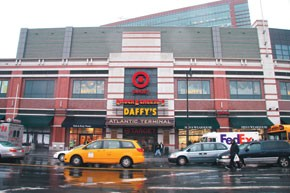 Atlantic Terminal includes five levels and 360,000 square feet of retail space.