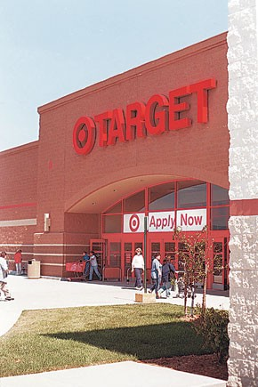 Target reported a 10.8 percent comp-sales gain.