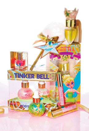 Tinker Bell products.