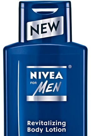 Body lotion from Nivea for Men.