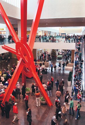NorthPark Center on Black Friday weekend.