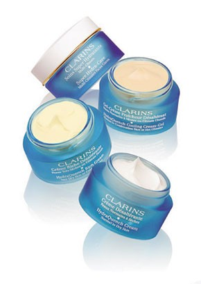 HydraQuench items from Clarins.