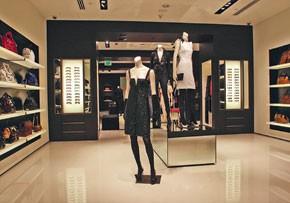 Accessories are emphasized at the Valentino store in Dallas' NorthPark Center.