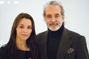 Erica Davies and Vince Camuto