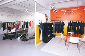 The NY/LA Co-Op West and East collectives house high-end contemporary lines.