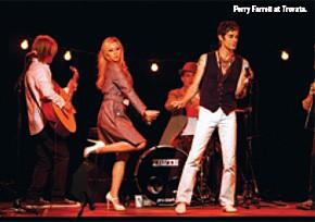 Perry Farrell at Trovata.