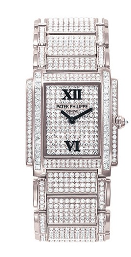 Two Patek Philippe watches that will be available at the brand's Tiffany & Co. salon.