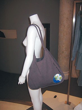 Alvin Valley's eco-friendly tote for Duane Reade.