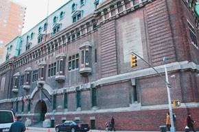 The 69th Regiment Armory on Lexington Avenue in Manhattan.