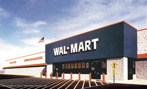 Wal-Mart failed to meet same-store-sales expectations.