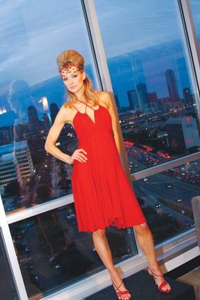 A dress from Cheryl MacLennan.