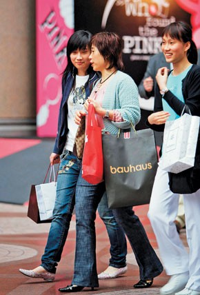 Consumers ages 16 to 30 are spending the bulk of the money in China.
