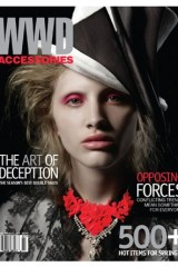 February 2008 cover of WWD Accessories