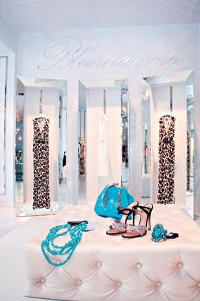 Inside Blumarine's first U.S. store.