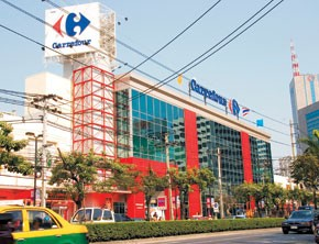 Carrefour in Thailand.