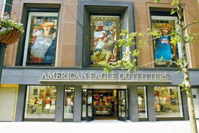 American Eagle Outfitters is one of the many retailers struggling in women's.