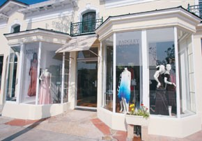 Badgley Mischka opened a store in West Hollywood.