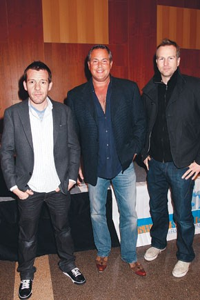 Lee Copperwheat, Scott Kay and Scott Morrison.