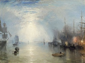A painting by J.M. Turner to be shown at the Dallas Museum of Art.