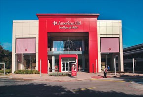 American Girl is one retailer at Galleria Dallas.